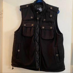 NWOT Mens tactical military puffer vest
